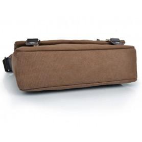Canvas iPad satchel bag