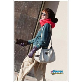white messenger bag for women