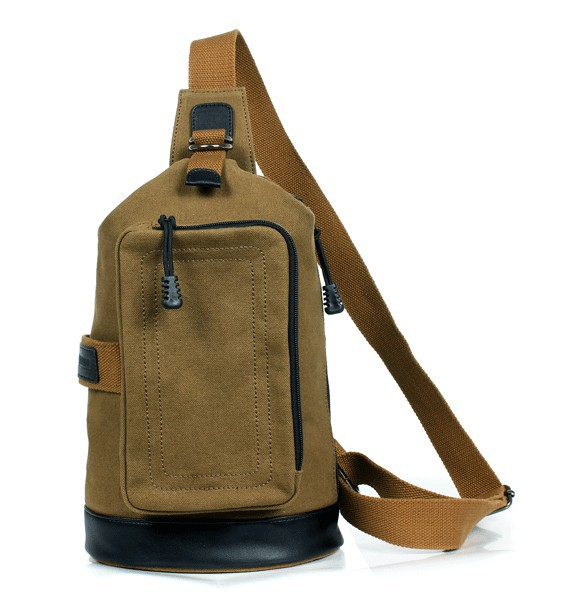 One strap backpacks for boys, school back pack - E-CanvasBags