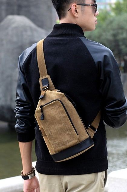 One Strap Backpacks For Boys School Back Pack E Canvasbags