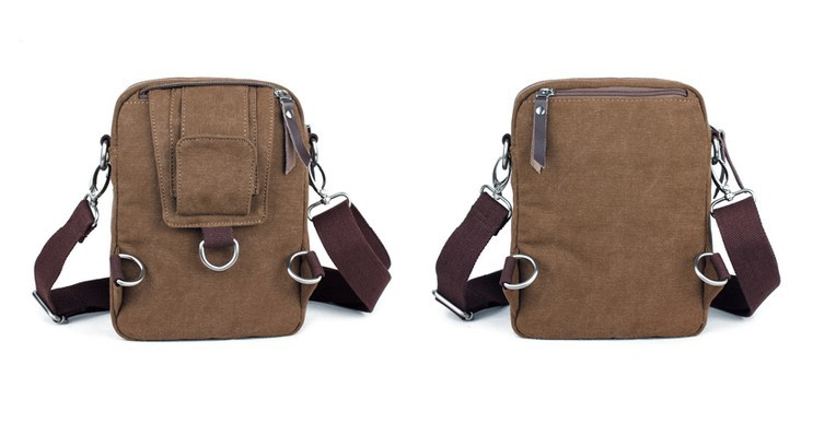 a5ab0992691c ... coffee sling hobo bag  canvas Backpack one strap ...