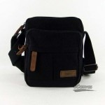 100% cotton thickened canvas bag, mini bag, black & khaki