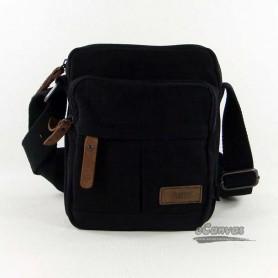 100% cotton thickened canvas bag, mini bag, black & khaki