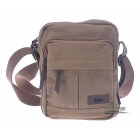 khaki 100% cotton thickened canvas bag