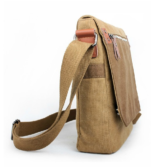 Small messenger bags for men, mens messenger bag - E-CanvasBags
