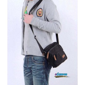 100% cotton thickened canvas bag for men