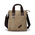Long shoulder bag, men canvas shoulder messenger bag