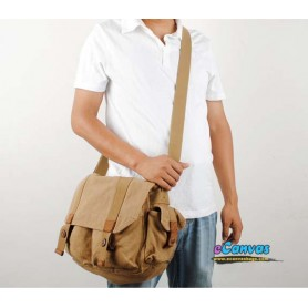 canvas laptop bag for men