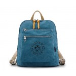 Canvas satchel backpack, fabric messenger bag