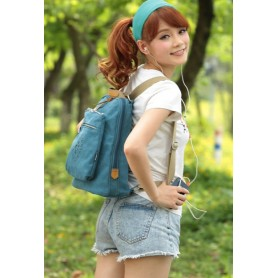 ladies Canvas satchel backpack