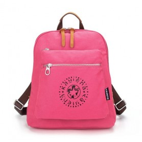 rose Canvas satchel backpack