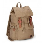 Durable backpack, european canvas rucksack