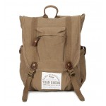 Vintage canvas backpack for women, canvas backpack mens