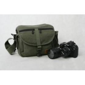army green camera bag