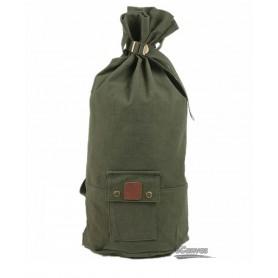 Unisex hiking rucksack, army green & coffee & khaki
