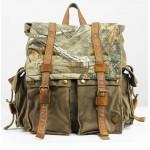 Backpack europe, vintage backpack, large canvas bag