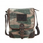Camo Casual Ipad Bag, Retro Shoulder Canvas Bag