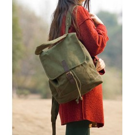 army green Travel Backpack