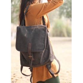 black Lightweight School Bag