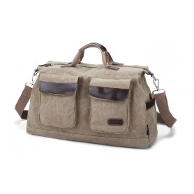 Mens shoulder bag, mens canvas messenger bag