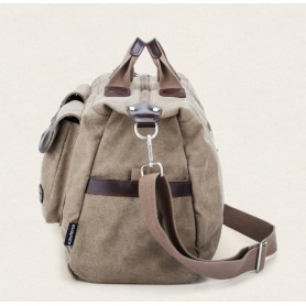 khaki Mens shoulder bag