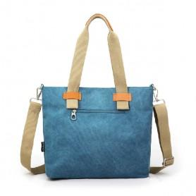 blue handbag fashion