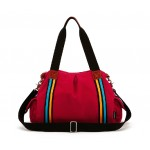 Crossbody handbag, red handbag