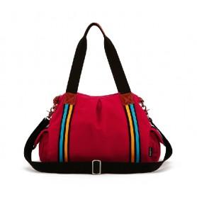 Crossbody handbag, red handbag